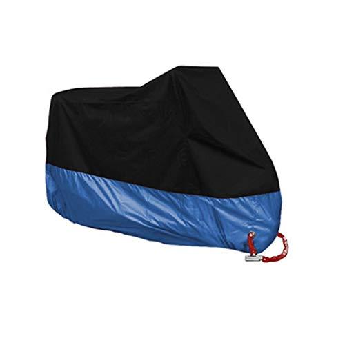 YYF Abbigliamento for motociclisti - Impermeabilizzazione esterna e interna - 190T - copertura for moto pesante - telone di stoccaggio for moto (Color : J-S)