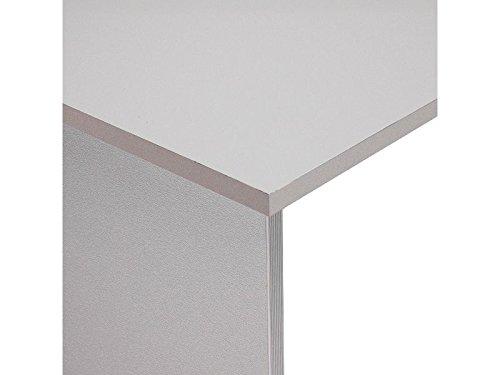 Mesa 200x80 estructura aluminio tablero gris