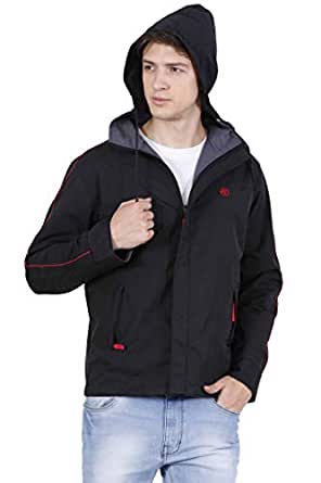 Forest Club | Water Resistant | Reversible | Light Weight | Jacket for Men with Hood | (Slim FIT)