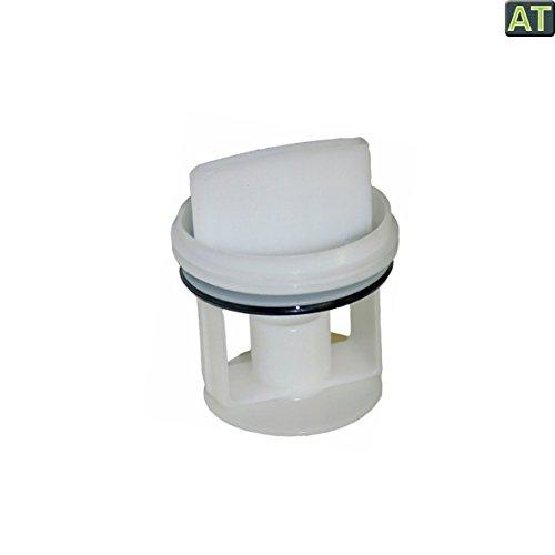 vioks-Filtro antipelusa Colador Filtro para eliminar Infusor Colador para bomba como lavadora compatible con Bosch Siemens 0060501063x 74mm
