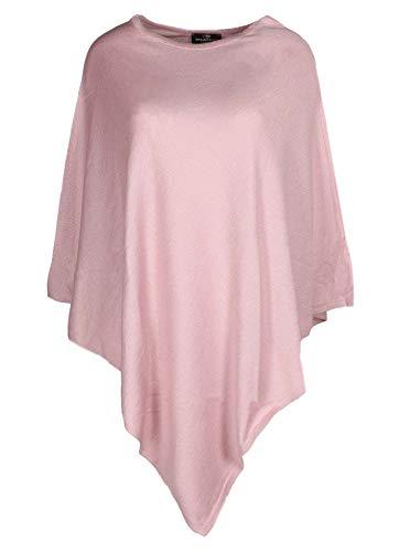 (Eleganter und hochwertiger Poncho / Cape für Damen in frischen Farben für 2015 ( lila ). Tolle alternative zu Pullover und Strickjacke.)
