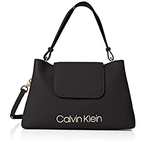 Calvin Klein Damen Dressed Up Top Handle Tornistertasche, 15.3x23x30.5 cm