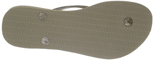 Havaianas Fin Tongs String - Diverses Couleurs Sable Gris/Doré Clair