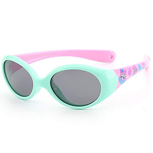 SHEEN KELLY Baby-Sonnenbrille für Kinder Baby/Kleinkind UV 400 Sonnenbrille mit Riemen Fall für Alter 0-3 enthalten Seil
