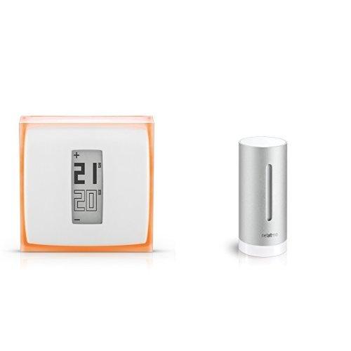 Netatmo - Termostato para Smartphone + Módulo adicional para estación meteorológica