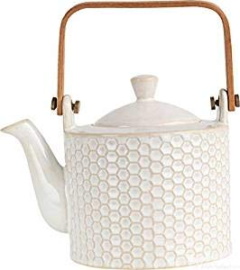 ASA 90401071 Théière en Porcelaine Blanche, Dimensions : 12 x 12 x 16,70 cm