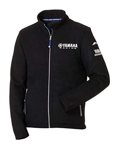 Yamaha Paddock Blue Fleece-Jacke schwarz für Herren Matsue, Größe: Größe XXL (Racing Jacken)