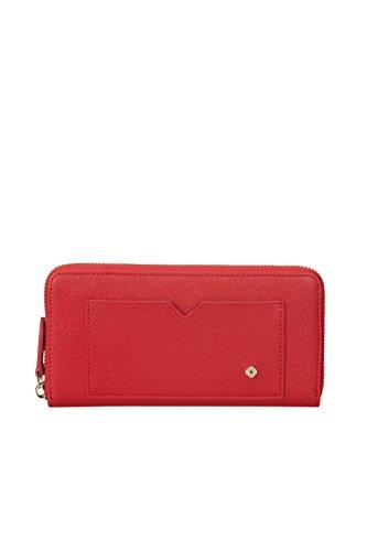 SAMSONITE Miss Journey SLG - Zip Around Large Kreditkartenhülle, 0 Liter, Scarlet Red