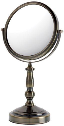 Danielle Kosmetik-Standspiegel, gebürstete Bronze