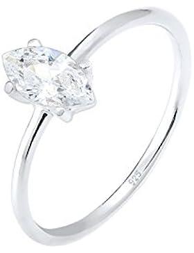 Elli Ring Marquise Zirkonia Minimal 925