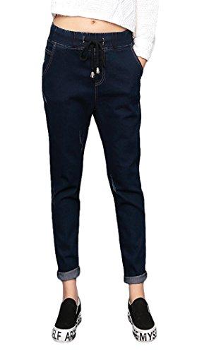 Casual Aivtalk-Custodia Denim Jeans-Pantaloni Skinny jeans XL