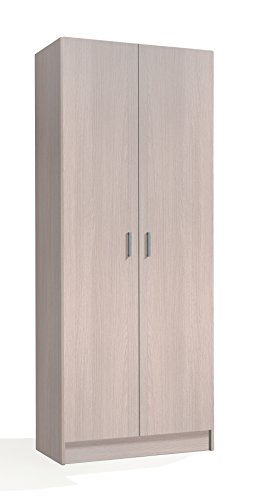 HABITMOBEL Mueble Multiuso Roble 180 x 73x 37 cm