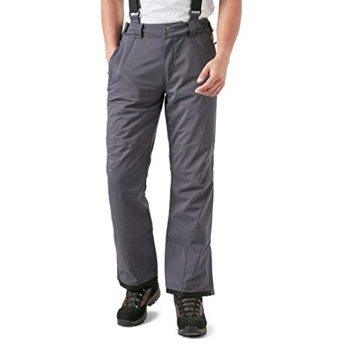 Dare 2b Certify Pant II Pantalon de Ski Homme, Ebony Grey, FR : M (Taille Fabricant : M)