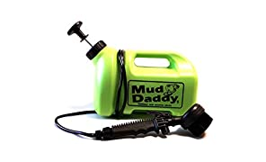 Mud Daddy 99000DS1GREEN Portable Mud Washing Brush, 5Ltr in Green