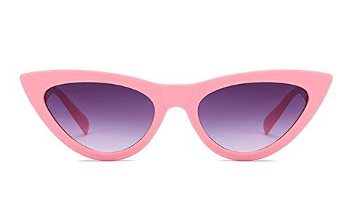 KnSam Polarisierte UV400 Schutz Ultraleicht Rahmen Katzenauge Damen Rosa Sonnenbrillen Fahrerbrille