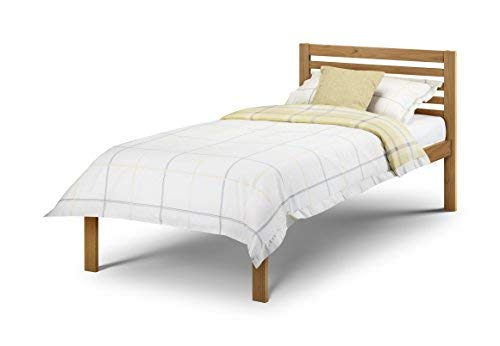 Julian Bowen Slocum Bed - Single, Antique Pine - Brown