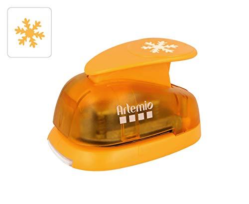Artemio 3,5 cm Copo Nieve Number 1 Perforadora, Naranja