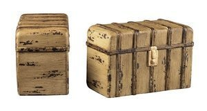 Sterling Industries 93-10089/S2 Travelers Trunk Bookends, Mimoso by Sterling Industries