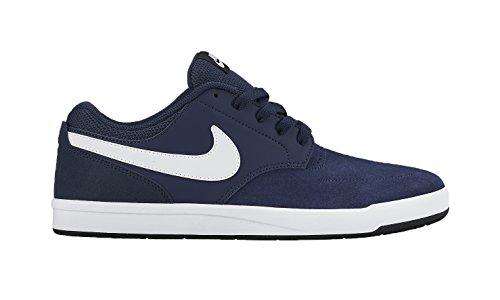 Nike Herren Sb Fokus Skaterschuhe Blau / Weiß / Schwarz (Dunkelblau / Weiß-Schwarz)