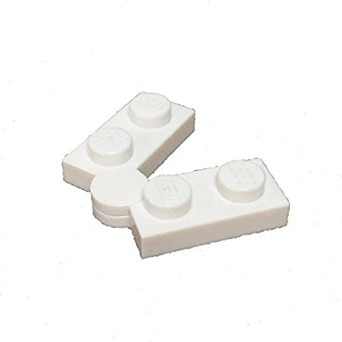 Lego Parts: Hinge Plate 1 x 4 Swivel Base and Top *COMPLETE ASSEMBLY* (White) by Parts/Elements -