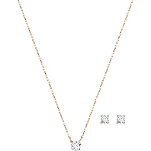 Swarovski -Schmuck-Sets Edelstahl Kristall 5408433