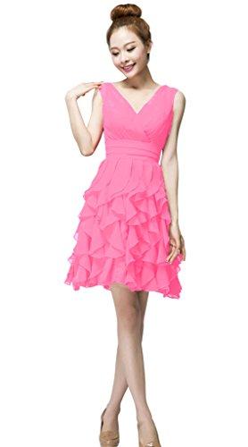 Vimans - Robe - Trapèze - Femme Pink 1