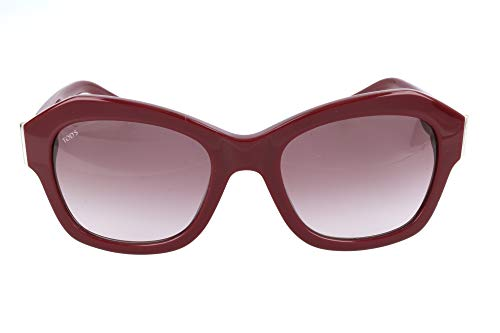 Tod's to0195-69t-rot occhiali da sole, rosso (rot), 53.0 donna