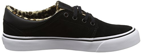 Scarpe Dc Trase Se, Damen Low-top Schwarz (animale)