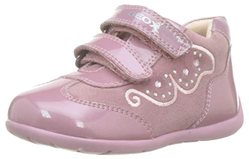 Geox B Kaytan A, Zapatillas para Bebés, Rosa Dk Pink C8006, 23 EU