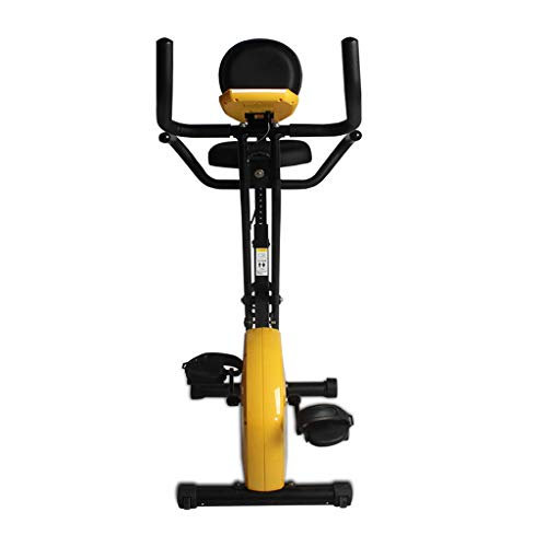 DS Fitness Equipment Folding Home Mute Magnetic Exercise Bike Indoor Exercise Bike Fitness Equipment Suitable For Internet Office Worker && (Color : C)