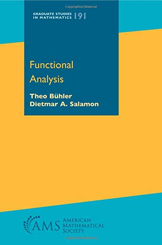 Functional Analysis (Graduate Studies in Mathematics, Band 191)