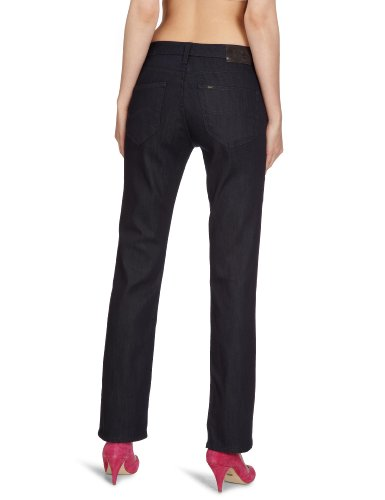 Lee - Marion - Jeans droit - Femme Bleu (Brut Denim - Brut)