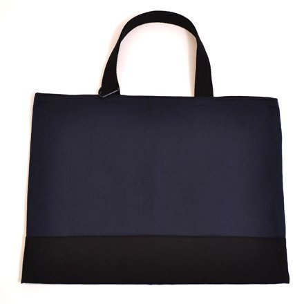 Kids lesson bag reversible type deep navy made in Japan N0184800 Handmade sense (japan import)