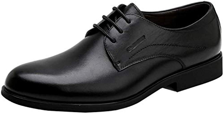Oudan Scarpe da da da Uomo Scarpe Derby da Uomo Business Dress Dress scarpe Fashion Comfortable (Coloreee   Nero, Dimensione...   Nuovo  adcbe8