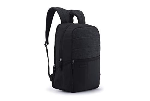 Harissons Pecan Black Casual 15.6  Laptop Backpack