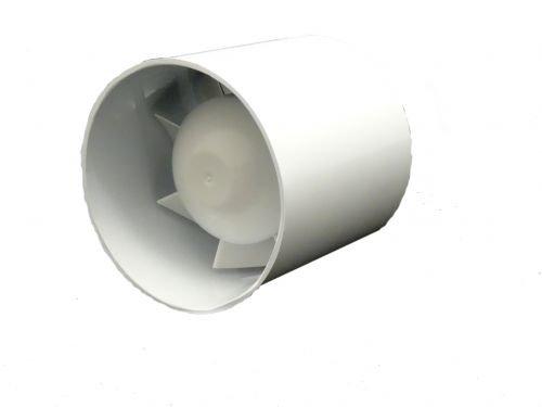 SUCCSALE- Hauslüfter-Badlüfter-Rohrlüfter-Rohrventilator-Kanallüfter-15 WATT-Farbe:weiß-BESTSELLER 2017-150er Durchmesse