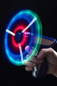 Smiffy de - 350 831 - Molino de viento Gun - Light Up Fantasía Accesorios Vestido - Traje , Modelos/colores Surtidos, 1 Unidad