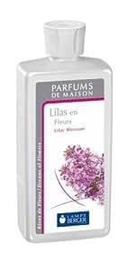 parfum maison lampe berger lilas en fleurs
