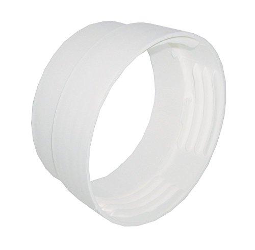 Metall Trockner Vent (Invero® Vent Schlauch Anschluss für die meisten Marken und Modelle von belüftet Trockner (10,2cm Zoll 102mm Durchmesser))
