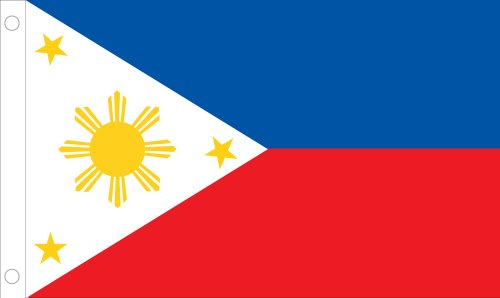Allied Flagge Outdoor Nylon Philippinen United Nation Flagge, 2 by 3-Feet - United Nations-flag