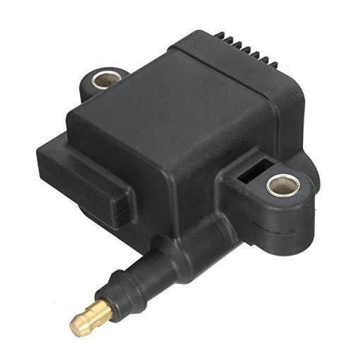 5 Pin Stecker Zündspule, Schwarz Motoren Coil Ersatz Coi, für Mercury Optimax 300-8M0077471 300-879984T01