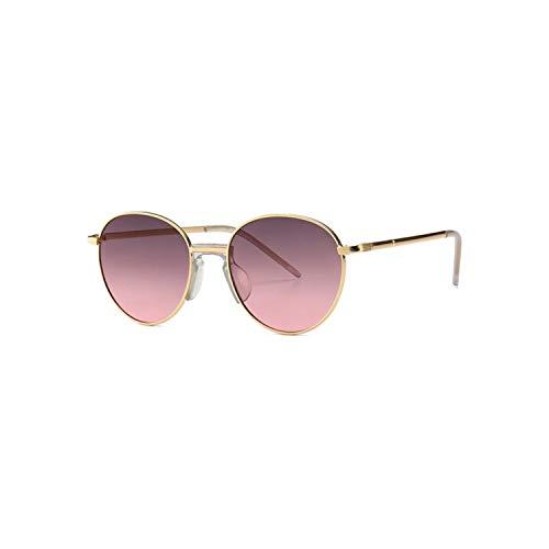 Sportbrillen, Angeln Golfbrille,NEW Fashion Trend Round Sunglasses Men Women Luxury Designer Sun Glasses Metal Frame Stylish Eyewear C04