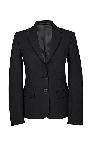 Greiff Damen-Blazer, Regular Fit, 8403, schwarz, Größe 46