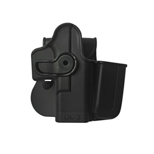 IMI Defense Concealed Carry Tactical Roto Holster + Integrated Magazine GK3 Glock 17 22 31 19 23 32 36 Gen 4 (Glock Tactical Magazin)