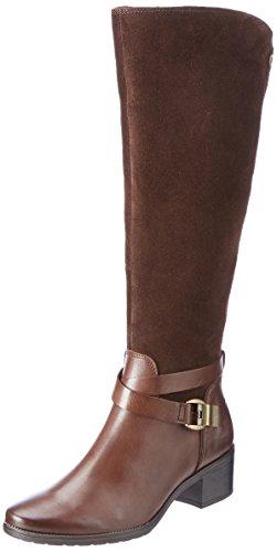 CAPRICE Damen 25609 Stiefel, Braun, 38 EU