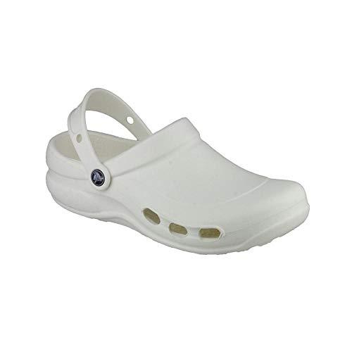 Crocs - Zuecos para Trabajo Modelo Specialist Vent Unisex (38-39 EU/Blanco)