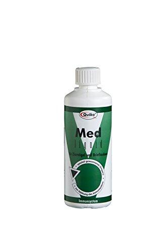 Quiko Med liquid - speziell gewonnenes Oregano für Ziervögel und Brieftauben zur Stärkung des Immunsystems, 1er Pack (1 x 100 ml)