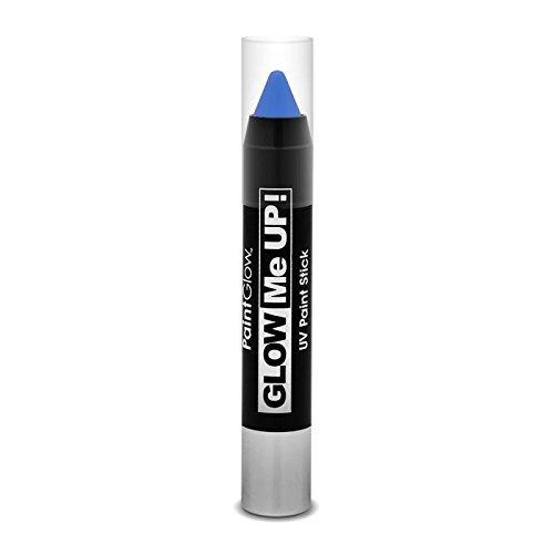 Paintglow, stick di vernice uv al neon, blu, 3,5 g