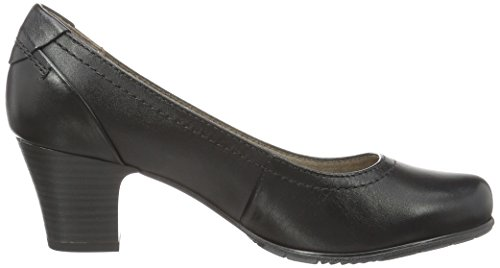 Jana Damen 22404 Pumps Schwarz (BLACK UNI 007)