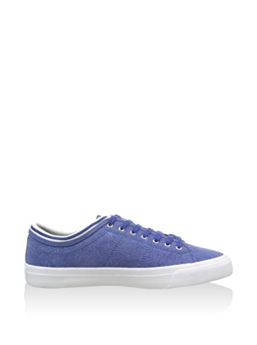 Fred Perry Kendrick Tipped Cuff Pigment Dyed Canva, Fred Perry Kendrick Tipped Pigment Dyed Canvas Cobalt Blue 42 homme Bleu